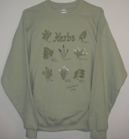 Herbal Sweatshirt - Sage Green