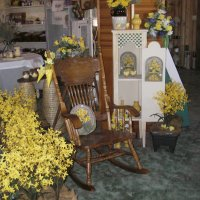 A Spring display in the shop