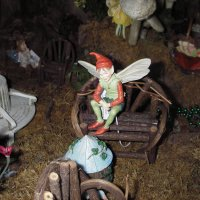Fairies play in our displays!