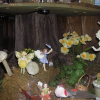 Fairy display in spring