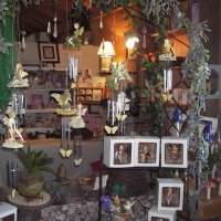 Fairy windchimes and pot-sitters