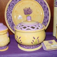 Lavender dishes 2
