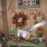 More fall shop displays1