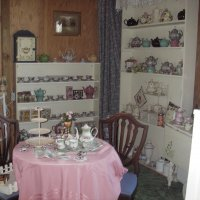 The Tea area